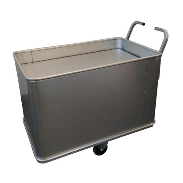2 poignées sur chariot aluminium