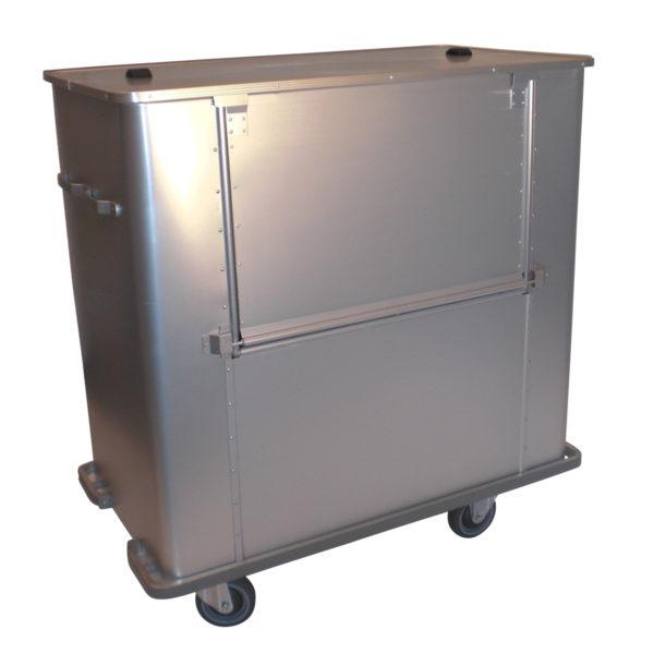 conteneur à déchets à 2 volets