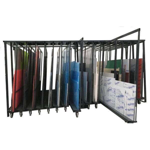 rack vertical stockage