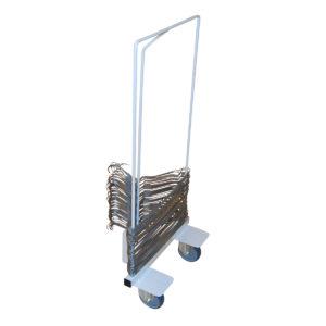 récupérateur de cintres sur roues