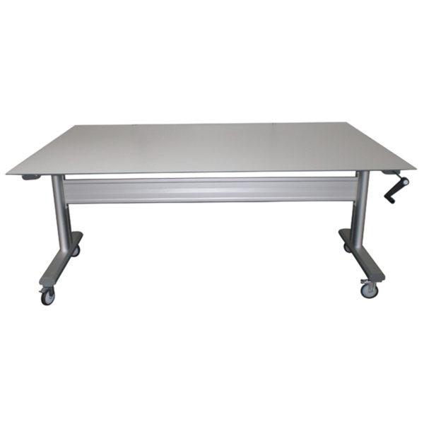 table ergonomique en stratifié