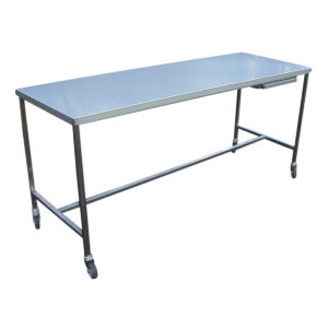 table inox standard 1 niveau